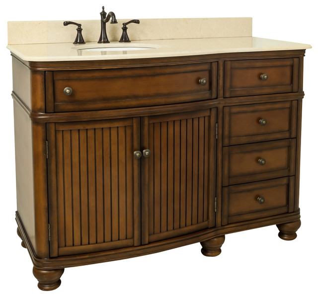 Lyn Design VAN029 48 T MC Traditional Bathroom Vanities And Sink Consoles
