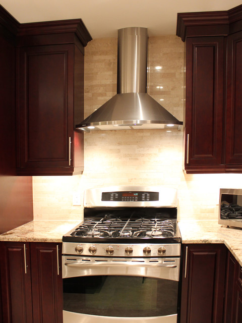 Kitchen Oven Hoods ~ Build it yourself kitchen oven and hood fan traditional