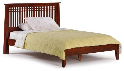 Night And Day Extra Long Coriander Twin Platform Bed