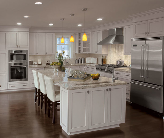 Lexington casual traditional-kitchen-cabinets