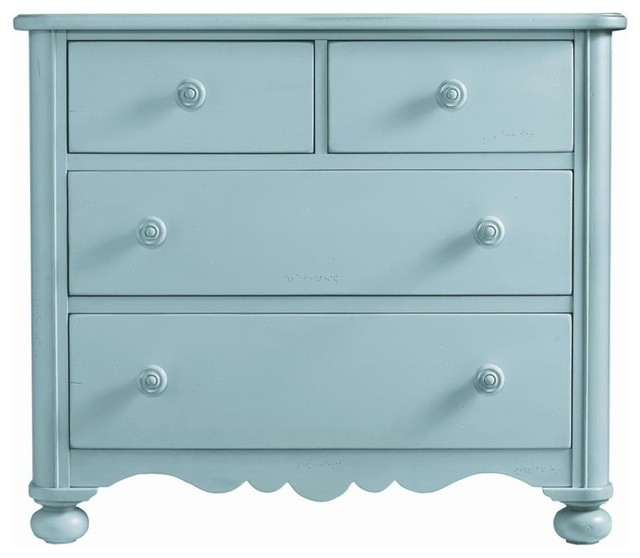 Stanley Furniture Coastal Living Cottage Drawer Seaside Chest In Sea Mist Dressers By