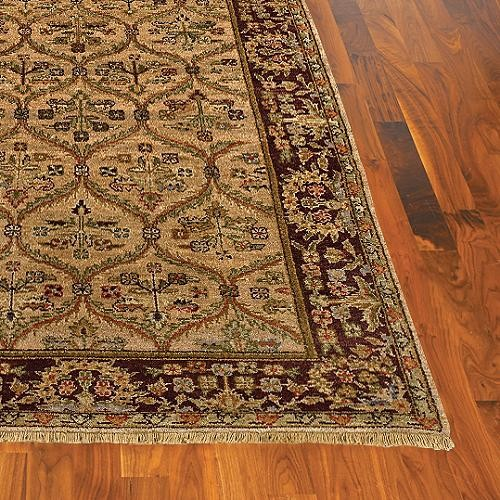 Elanya Wool Area Rug - 26 x 12 traditional rugs