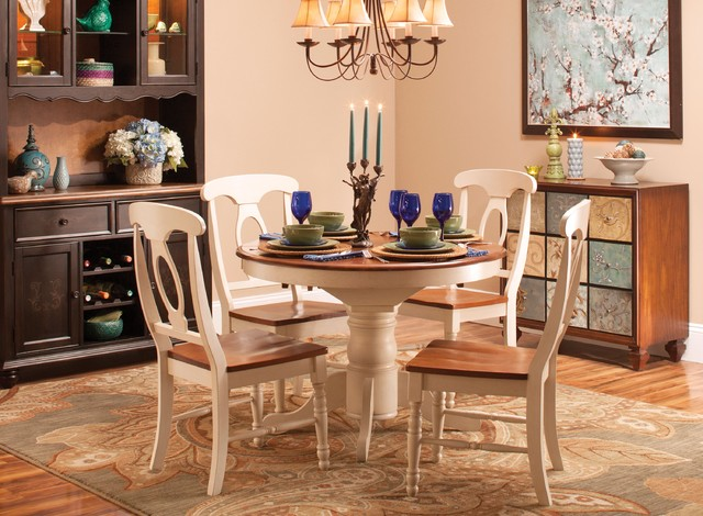 Kenton II 5 Pc Dining Set Transitional Dining Room Other Metro By Ra