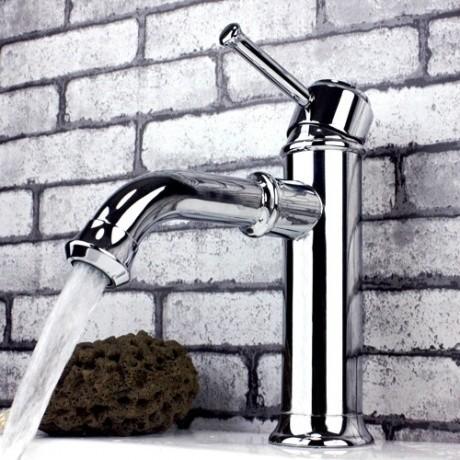 JollyHome Modern Chrome Cheap Bathroom Faucet modern-bathroom-faucets-and-showerheads