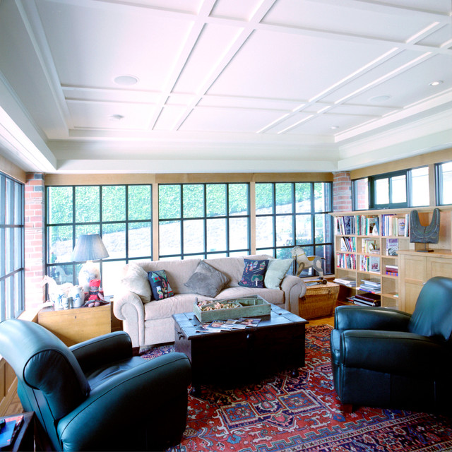 Renovation of a 1928 House traditional-living-room