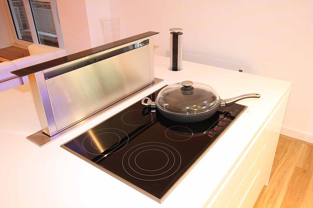 pop up kitchen extractor contemporary major kitchen