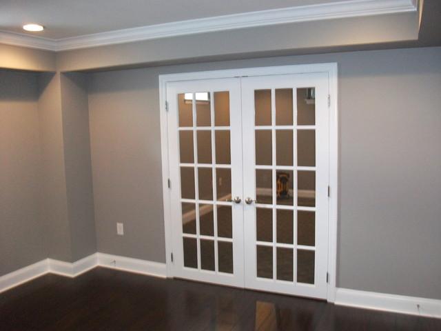 Blackwood Basement traditional-basement