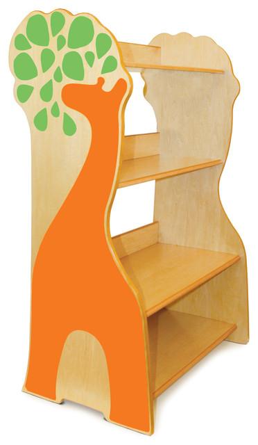 P'kolino - Giraffe Book Case modern-toy-organizers