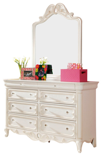 Lea elite vintage boutique 8 drawer dresser with mirror in for Lea boutique