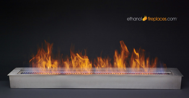 Ethanol Burner Insert Projects contemporary-indoor-fireplaces