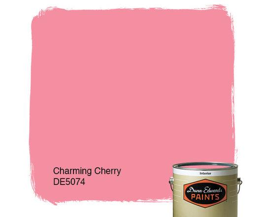 Dunn-Edwards Paints Charming Cherry DE5074 -