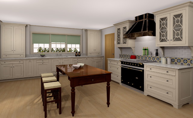 Kitchen Design Renderings traditional-rendering
