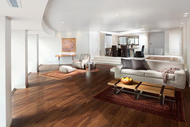 Persian Carpet in modern, contemporary home