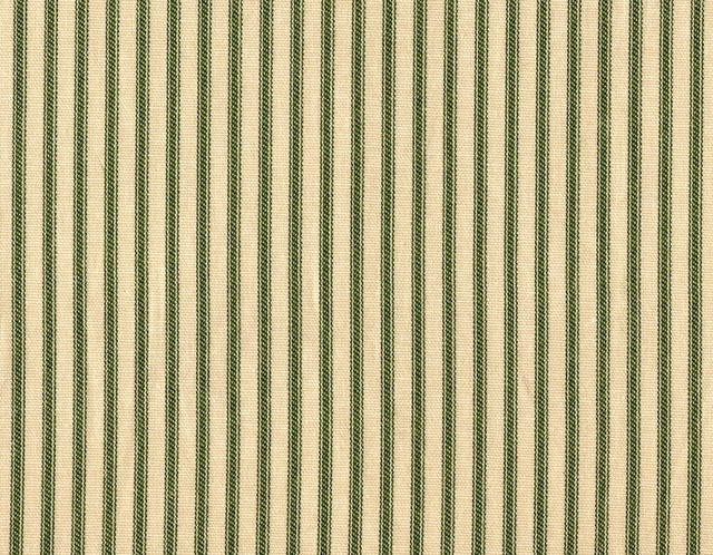 King Shams Ruffled Pair Sage Green Ticking Stripe traditional-pillowcases-and-shams