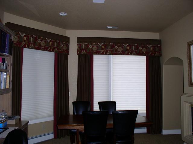 Window Treatments With Cornice Boards