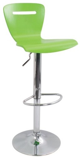 """H2 23"""" Barstool in Green modern-bar-stools-and-counter-stools"""
