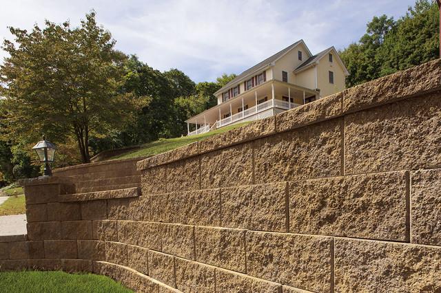 Decorative Stone Retaining Wall : Retaining and decorative stone walls landscaping stones