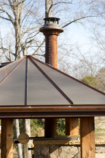 New Works from Oak hill Iron patio