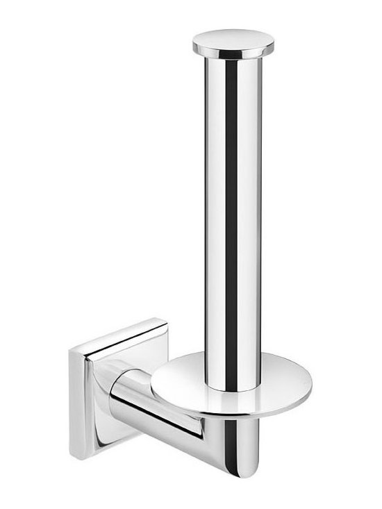 WS Bath Collections - WS Bath Collections Kubic Class Spare Toilet Paper Holder - Designer Bathroom Accessories