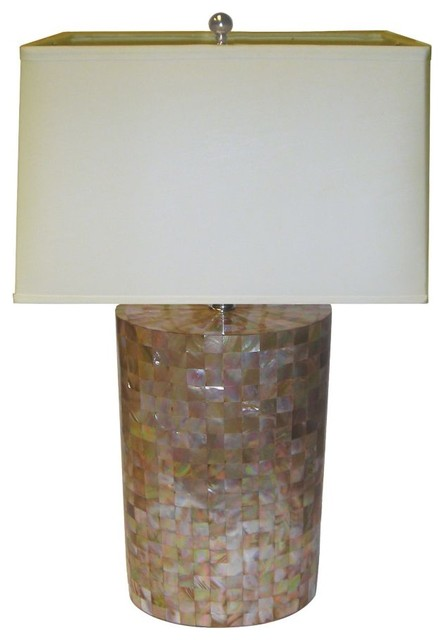 oblong shell table lamp traditional-table-lamps