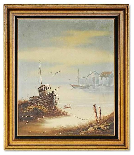 Fishing Boats modern-picture-frames