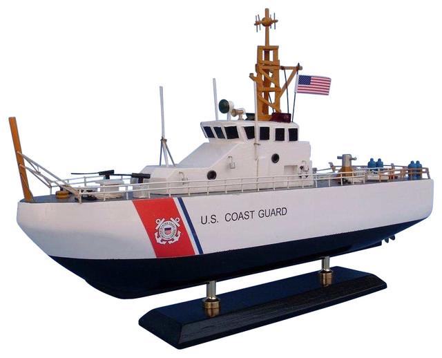 uscg coastal patrol boat 16 wooden coast guard model