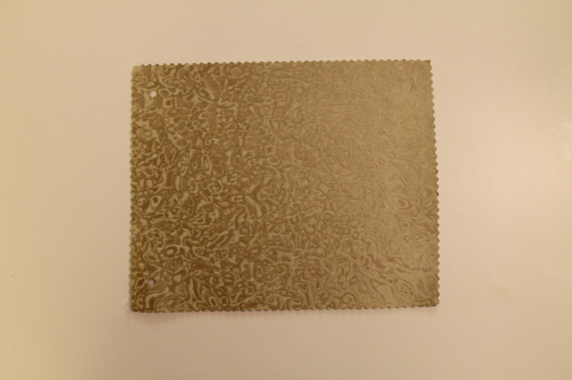 Mosaic 2485 Gold Faux Leather for Upholstery and Interior Design by FFC