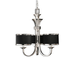 www.essentialsinside.com: tuxedo 3 light  chandelier contemporary pendant lighting