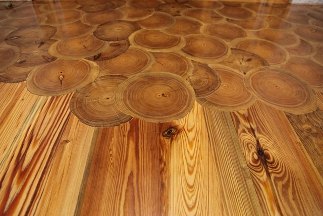 Hardwood Floor Inlays Traditional Charlotte By
