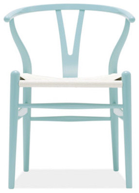 Wegner Wishbone Colors Chair contemporary-living-room-chairs