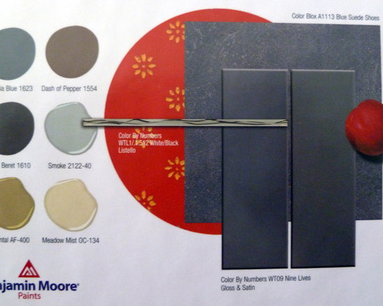 Porcelain Wall Tile -- By Numbers Series -