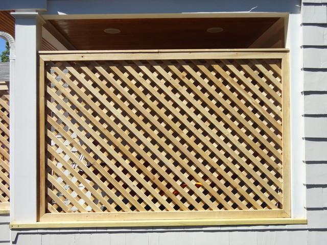 Lattice Screen Fence Plans Diy Free Download Shadow Box