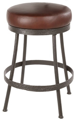 """Cedarvale 25"""" Swivel Counter Height Barstool modern-bar-stools-and-counter-stools"""