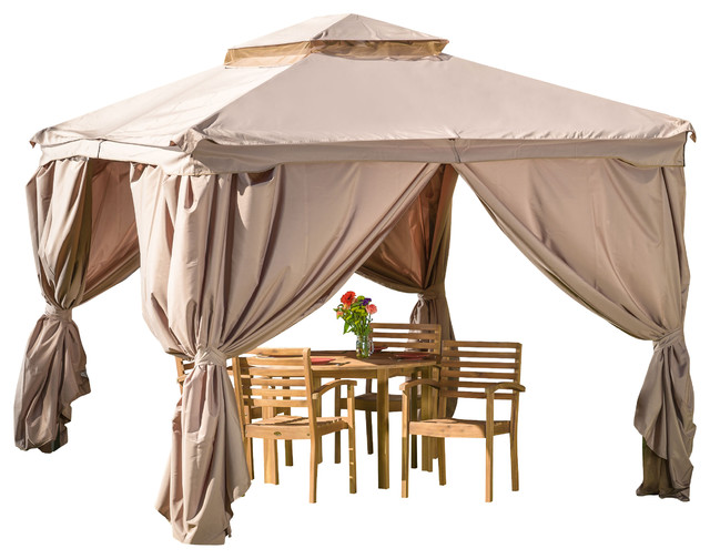 Chanelle Outdoor Gazebo Canopy - Contemporary - Gazebos - by Great ...