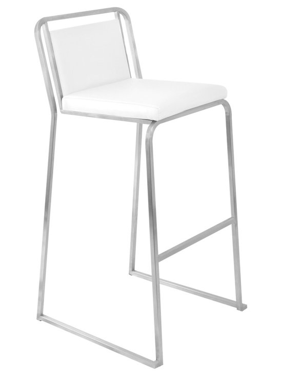 Cascade Bar Stool Stacker - WHITE