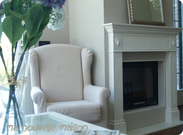 the mantel traditional-family-room