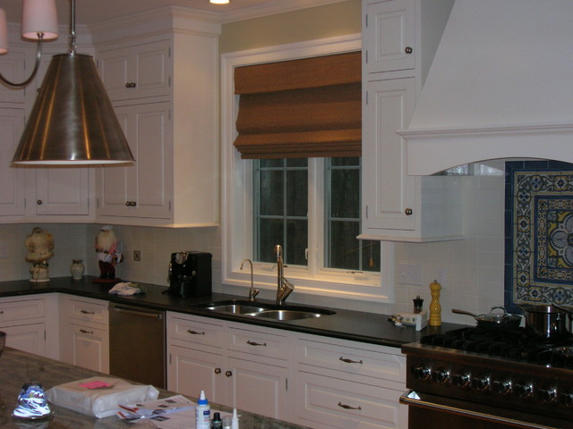 Hellertown pa woven wood shades contemporary kitchen for Kitchen cabinets quakertown pa