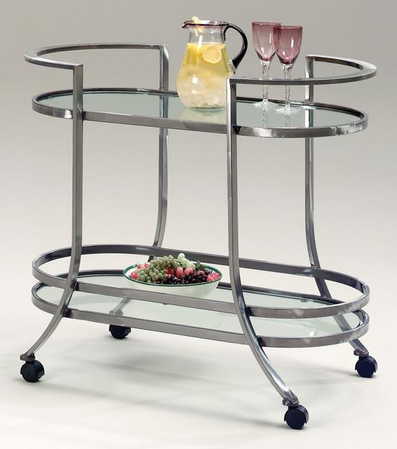 Johnston Casuals Tea Cart Table Contemporary Bar
