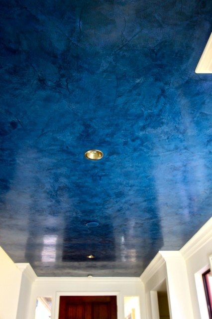Marble Wall Plastering : Venetian plaster contemporary orange county by joni