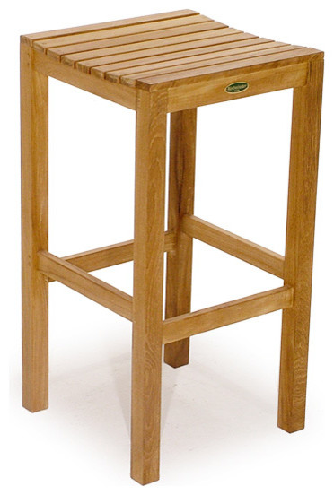 Somerset Backless Bar Stool transitional-outdoor-benches