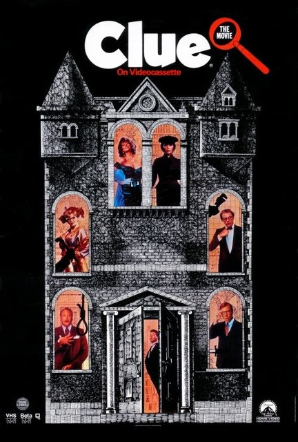 Clue 27 x 40 Movie Poster - Style C prints-and-posters