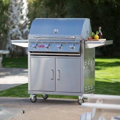 Bull Lonestar Select BBQ Grill Cart modern-outdoor-grills