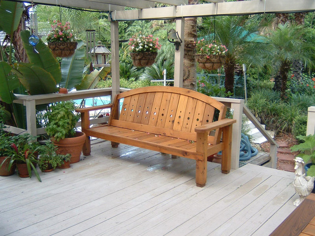 Cedar Patio Furniture Sets Dining Set