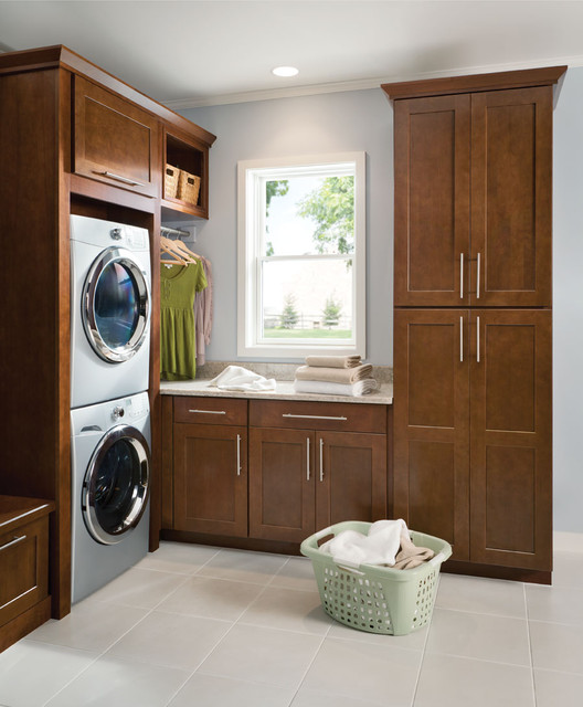 Mission Cherry Chocolate contemporary-kitchen-cabinetry