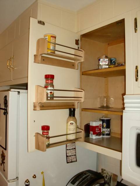 Cabinet Door Spice Rack cabinet-and-drawer-organizers