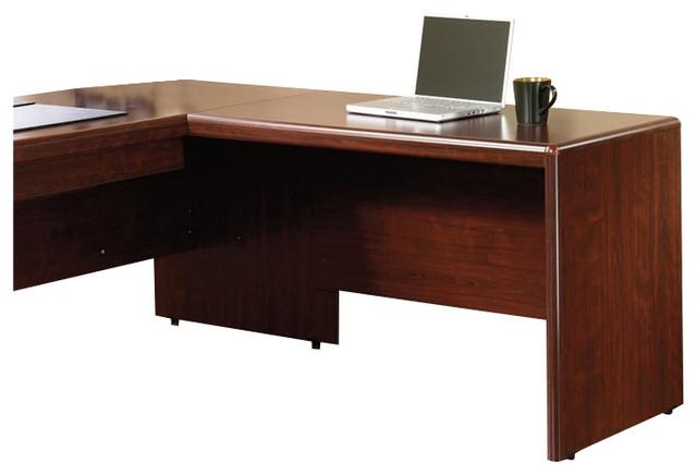 Sauder Cornerstone 48 Quot Desk Return In Classic Cherry