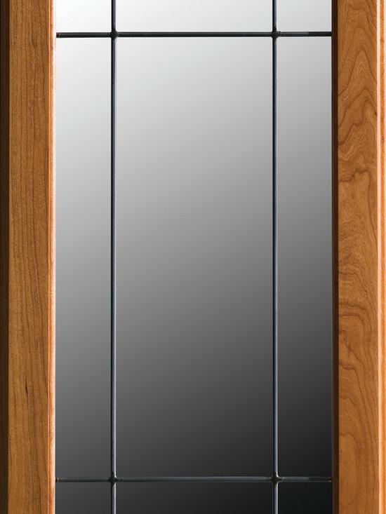 "Dura Supreme Cabinetry - Dura Supreme Cabinetry LG-23 Leaded Glass Cabinet Door. - Dura Supreme Cabinetry ""LG-23"" Leaded Glass Cabinet Door."