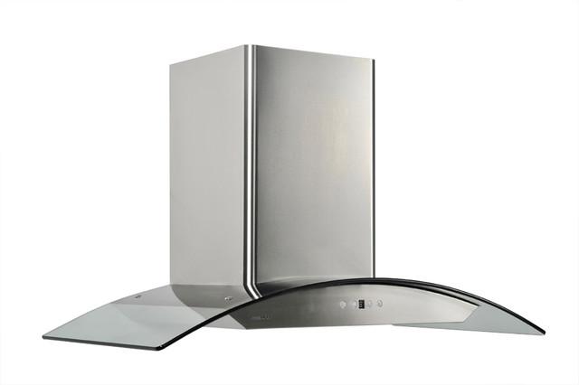 Range oven oven range hoods wall mount for Modern kitchen vent