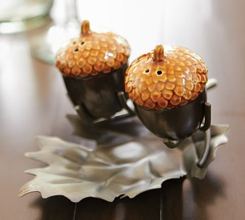 Acorn Salt & Pepper Set food-containers-and-storage