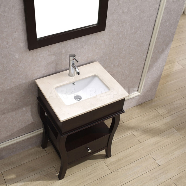 Small bathroom vanities traditional los angeles by for Sink with vanity for small bathroom